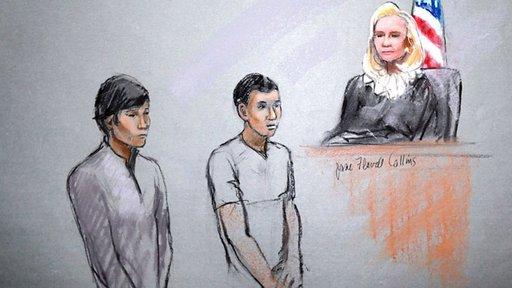محاكمة طالبين من كازاخستان في ولاية بوسطن الامريكية