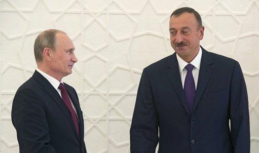 بوتين يؤكد تمسك موسكو وباكو بإيجاد حلول مقبولة للجميع لملفات بحر قزوين