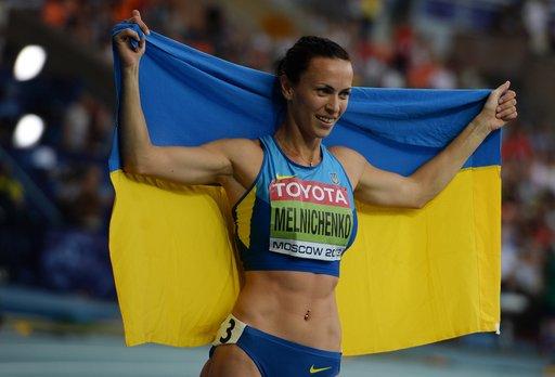 الأوكرانية ميلينتشنكو تنتزع ذهبية السباعي في بطولة العالم