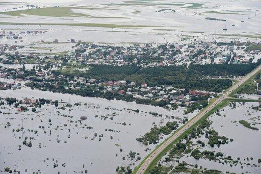 زهاء 400 شخص لا يزالون في منطقة الفيضانات في أقاصي شرق روسيا