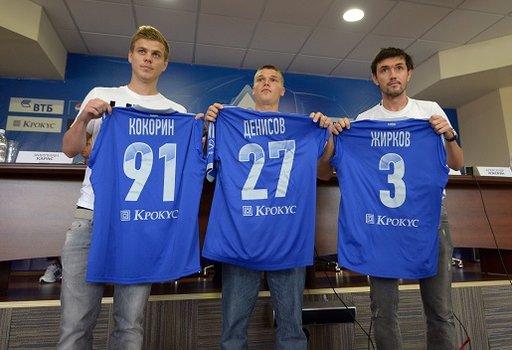 دينامو موسكو يقدم ثلاثي أنجي السابق رسمياً!