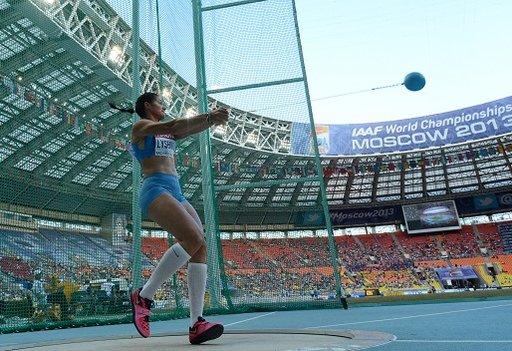 الروسية ليسينكو تحتفظ بلقب بطلة العالم لرمي المطرقة