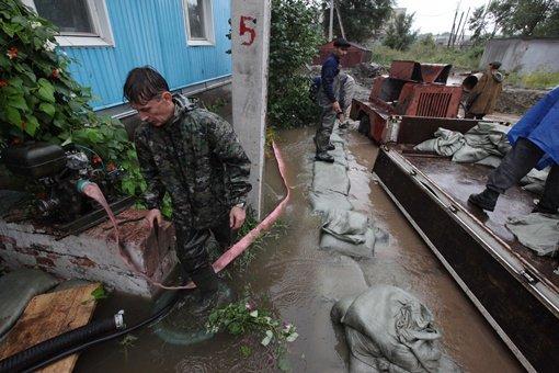 عمليات إجلاء متواصلة في الشرق الأقصى الروسي المتضرر من الفيضانات