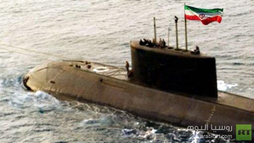إيران تختبرغواصة جديدة
