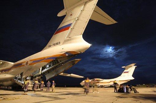 مجموعة من مواطني روسيا ودول الاتحاد السوفيتي السابق القاطنين بسورية تصل إلى روسيا