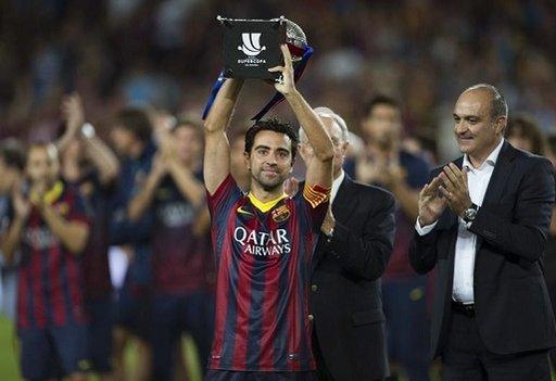 برشلونة يحرز باكورة ألقابه في الموسم الجديد