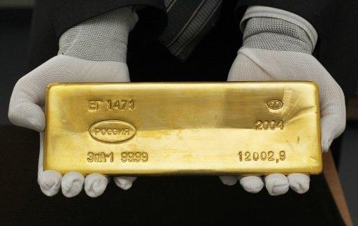 تراجع سعر الذهب بعد صعود 5 ايام