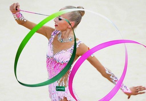 كودريافتسيفا تحرز ذهبيتين في بطولة العالم للجمباز الايقاعي