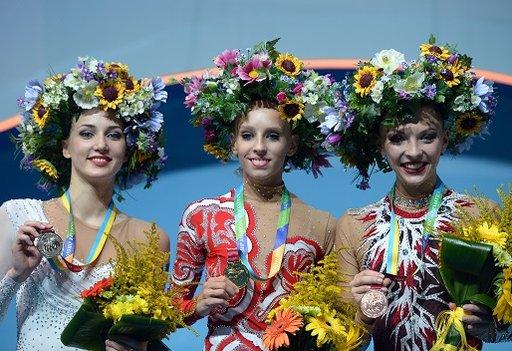 كودريافتسيفا تحرز الذهبية الثالثة في بطولة العالم للجمباز الايقاعي