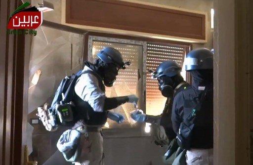 بدء تحليل عينات من مكان الهجوم الكيميائي المزعوم بسورية في مختبرات أوروبية