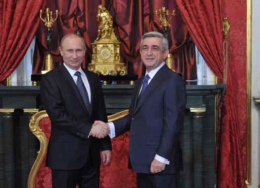 أرمينيا تعتزم الانضمام الى الاتحاد الجمركي بين روسيا وكازاخستان وبيلاروس