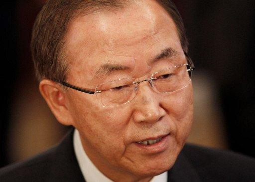 بان كي مون: أي تدخل عسكري في سورية لابد أن يكون بموافقة مجلس الأمن