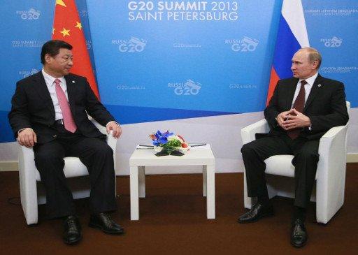 بوتين يشيد بتطور العلاقات بين روسيا والصين في شتى المجالات