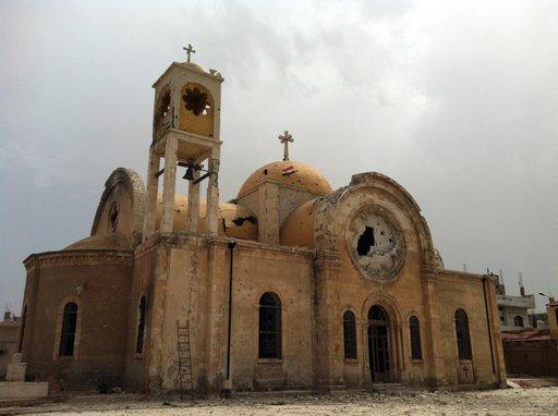 المطران فيليب: قصف سورية قد يؤدي الى القضاء على المسيحية في الشرق الأوسط