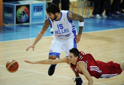 اليونان تلحق الهزيمة الثانية بروسيا في كأس أوروبا لكرة السلة