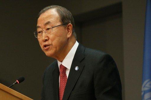 بان كي مون: موظفو الأمم المتحدة لا يخططون لمغادرة سورية