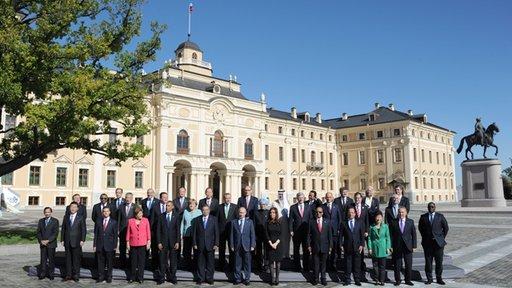 زعماء دول مجموعة العشرين يتفقون على تحفيز النمو الاقتصادي ومكافحة تمويل الإرهاب