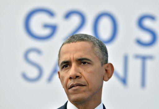 أوباما لا يرد على سؤال عما إذا كانت واشنطن ستوجه ضربة الى سورية في حال رفض الكونغرس