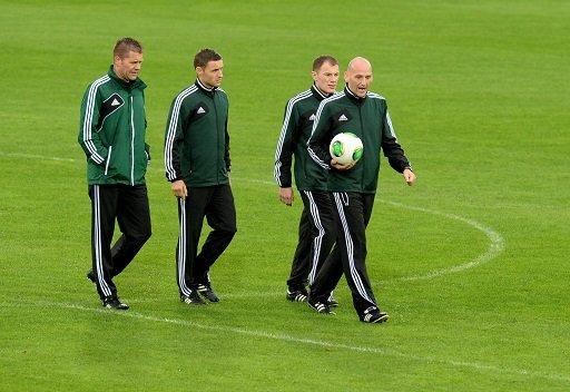 تأجيل موعد مباراة روسيا ولوكسمبورغ ساعة واحدة بسبب الأمطار الغزيرة