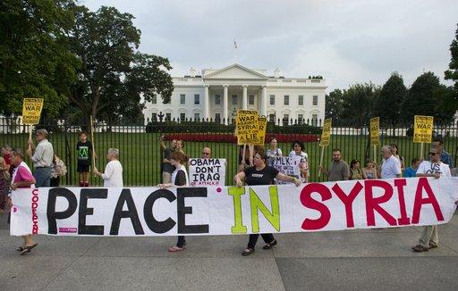 البيت الأبيض يكشف عن قائمة الدول التي تدعم التدخل العسكري في سورية