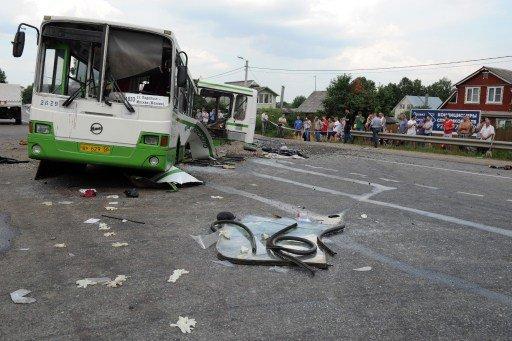 8 قتلى وأكثر من 20 مصابا في حادث اصطدام حافلتين في مقاطعة بسكوف شمال غرب روسيا