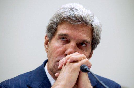 كيري: الولايات المتحدة ستواصل الضغط على إيران