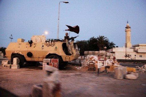 الجيش المصري يبدأ عملية عسكرية جديدة في سيناء
