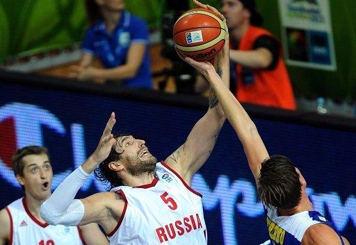 روسيا تتعرض للهزيمة الثالثة في كأس أوروبا لكرة السلة