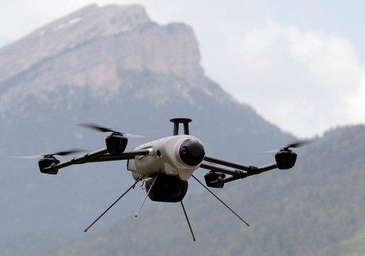 روبوتات طائرة لراحة ساعي البريد