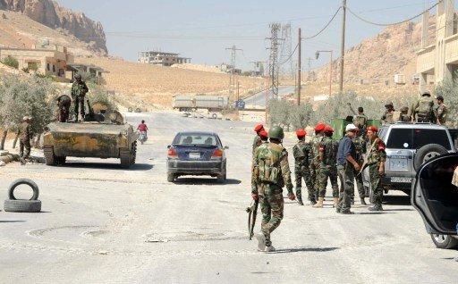 الجيش السوري يعلن السيطرة على كامل معلولا في ريف دمشق الشمالي