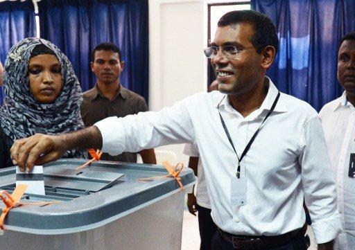 نشيد ويمن إلى جولة الإعادة في انتخابات رئاسة جزر المالديف في 28 سبتمبر