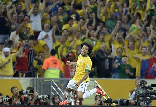 مارسيلو يغيب عن قمة البرازيل والبرتغال