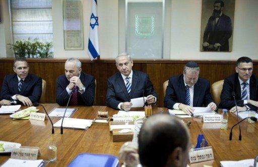 المجلس الوزاري الإسرائيلي المصغر يقرر البقاء في حالة انعقاد دائم لمتابعة الأوضاع في سورية