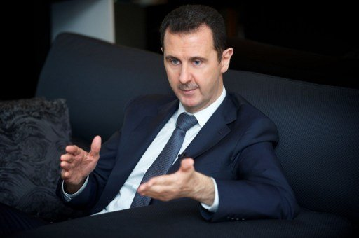الأسد ينفي في حديث مع قناة