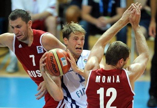 روسيا تتعرض إلى الهزيمة الرابعة في كأس أوروبا لكرة السلة