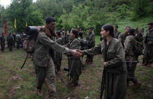 حزب العمال الكردستاني يعلن تعليق انسحابه من الأراضي التركية