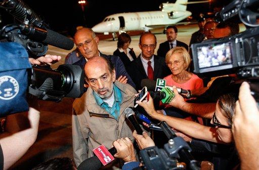 الإفراج عن صحفي إيطالي اختطف في سورية في أبريل الماضي