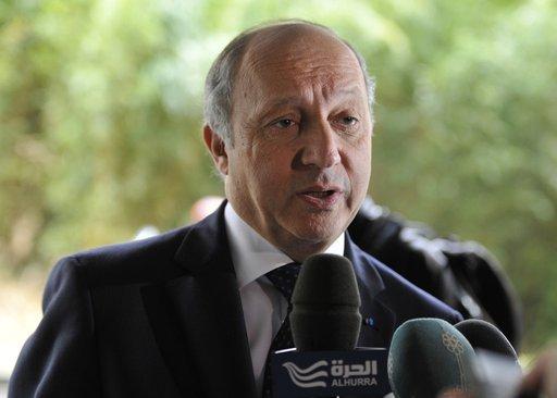 فابيوس: فرنسا ستقدم اليوم الى مجلس الأمن مشروع قرار تحت الفصل السابع بشأن سورية
