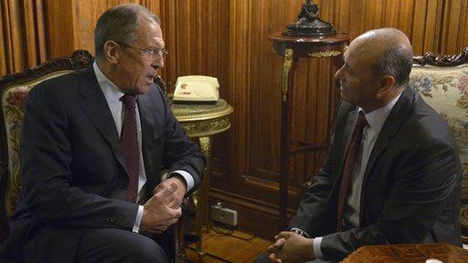 لافروف: موسكو تعمل مع سورية على اعداد خطة لتنفيذ المبادرة الروسية