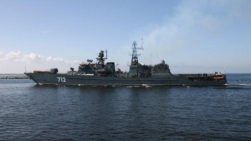 مصدر عسكري روسي: تشكيلة سفننا في المتوسط انتهت من وضع خطة العمل لمواجهة الطوارئ