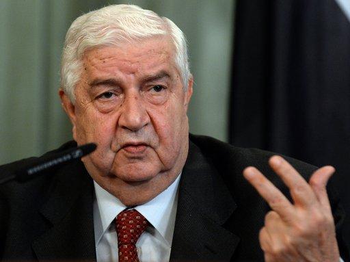 دمشق تعلن موافقتها رسميا على وضع أسلحتها الكيميائية تحت الرقابة الدولية