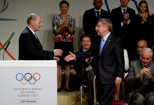 الألماني باخ رئيساً للجنة الاولمبية الدولية