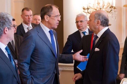 لافروف: المقترح الفرنسي لتبني قرار أممي تحت الفصل السابع حول سورية غير مقبول