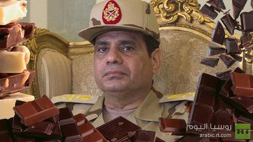 بعد تمر السيسي .. متجر يبيع شوكولاتة تحمل صورة وزير الدفاع المصري