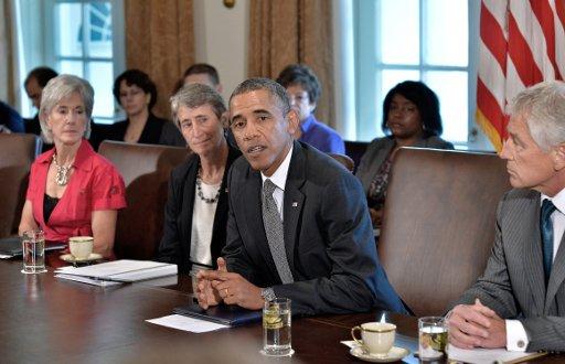 أوباما يأمل في توصل كيري ولافروف الى نتائج ايجابية حول الكيميائي السوري