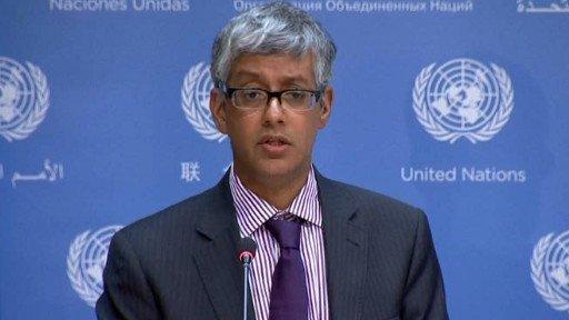 الامم المتحدة تستلم رسالة من سورية تعلن فيها نيتها الانضمام الى معاهدة الاسلحة الكيميائية