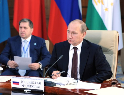 بوتين يرحب بقرار سورية الانضمام الى معاهدة حظر الأسلحة الكيميائية