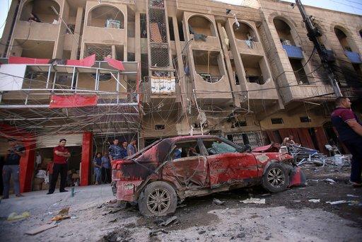 مقتل وإصابة العشرات في هجمات متفرقة في بعقوبة بمحافظة ديالى العراقية