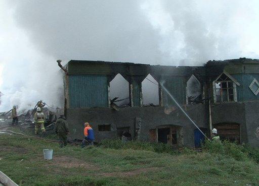 مصرع 37 شخصا جراء حريق بمستشفى للأمراض النفسية شمال غرب روسيا