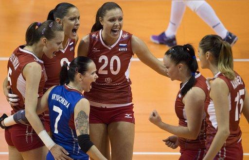 سيدات روسيا يبلغن نهائي أوروبا لكرة الطائرة